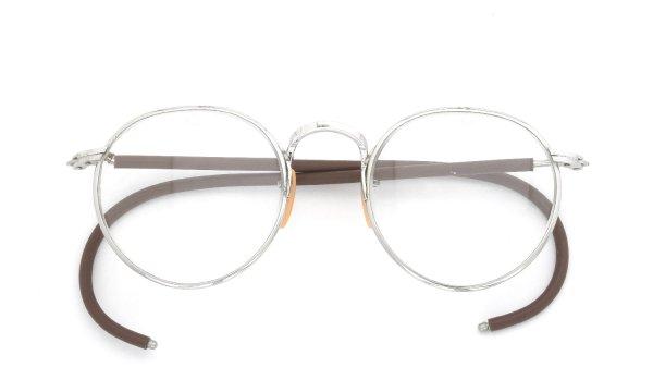 Bausch&Lomb safety-glasses 1950s-1960s Full-Frame Ful-VuePanto Silver Original-Glass-Lens 42-21