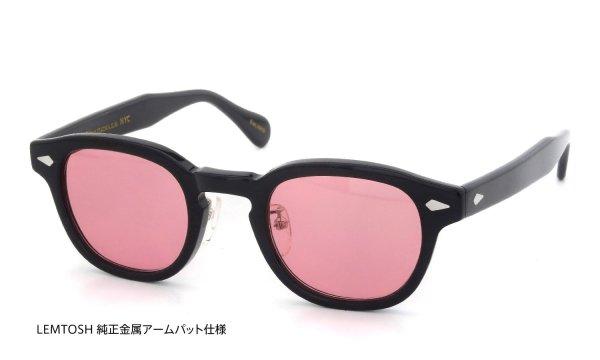レムトッシュ サングラス ブラック/ピンクレンズ