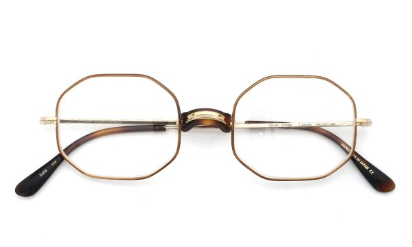 Oliver Goldsmith 海外モデル メガネ Oliver Octag with Pad Gold HB 48size