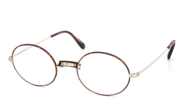 Oliver Goldsmith 海外モデル メガネ Oliver Oval/Pro with Pad Gold MMS 48size