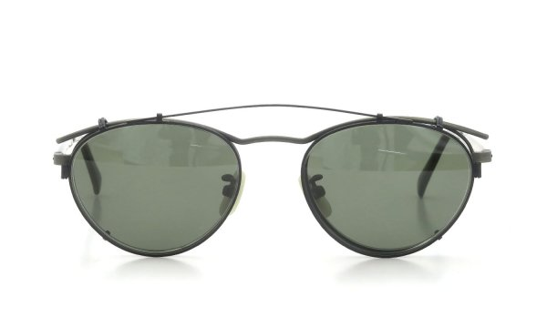 OLIVER PEOPLES 1990's OP-6 GR-986 with Clip