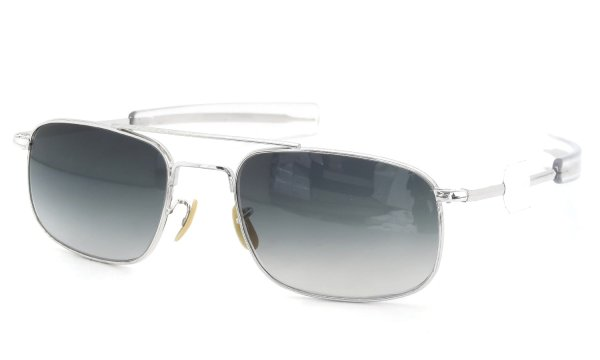 American Optical 1950s〜1960s Mid-Century Modern-Pilot White-Gold Gry-GRD-Lens 104516