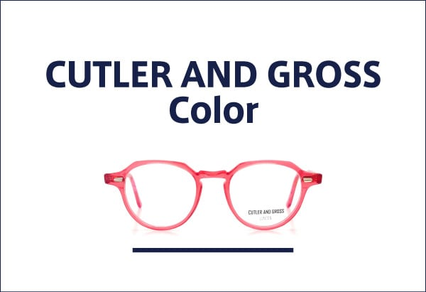 CUTLER AND GROSS カラーフレーム