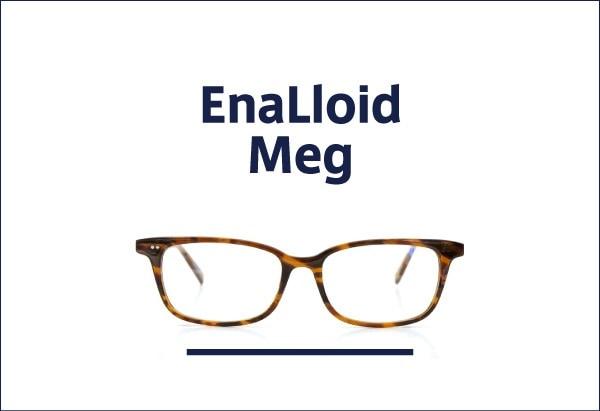 EnaLloid 定番メガネ Meg