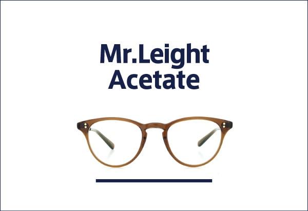 Mr.Leight ミスターライトのアセテート
