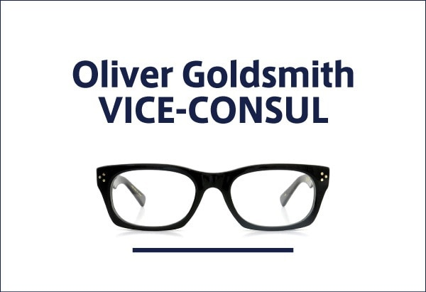 Oliver Goldsmith VICE CONSUL
