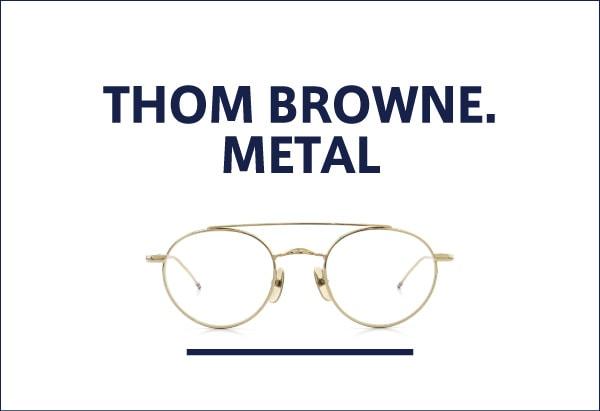 THOM BROWNE メタルフレーム