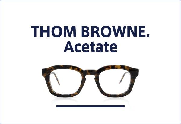 THOM BROWNE アセテートフレーム