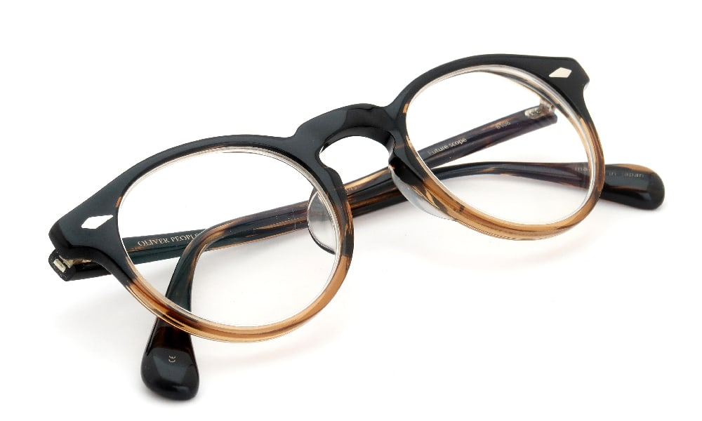 磨き直し No.0033 OLIVER PEOPLES Future scope 8108 加工後