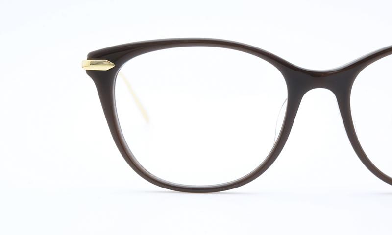 EnaLloid(エナロイド)× kvina(クビーナ)メガネ jo 080-3