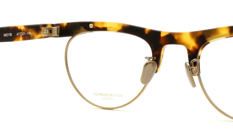 OLIVER PEOPLES(オリバーピープルズ)  メガネ OP-4 MDTM-8