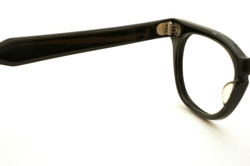Art Craft メガネ ブラック 4 1/2 - 6  U.S.A. 48サイズ 7