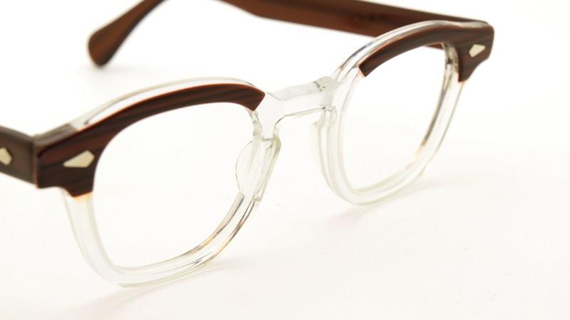 TART OPTICAL タートオプティカル メガネ vintage ARNEL REDWOOD-CLEAR 44/24 6