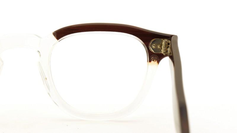 TART OPTICAL タートオプティカル メガネ vintage ARNEL REDWOOD-CLEAR 44/24 8