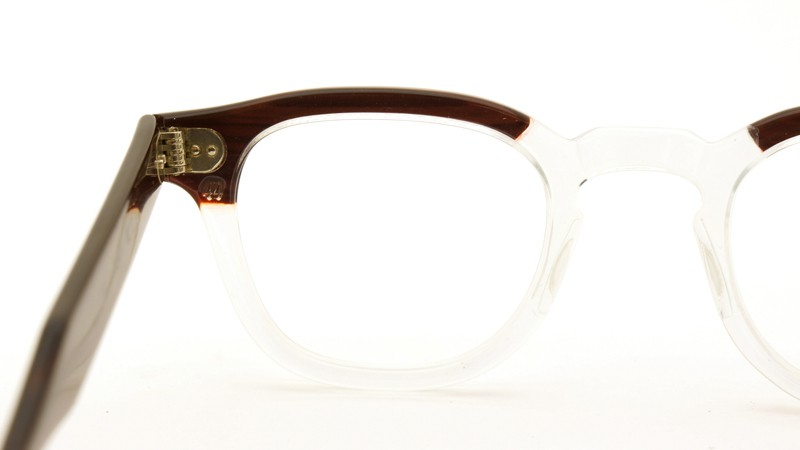 TART OPTICAL タートオプティカル メガネ vintage ARNEL REDWOOD-CLEAR 44/24 7