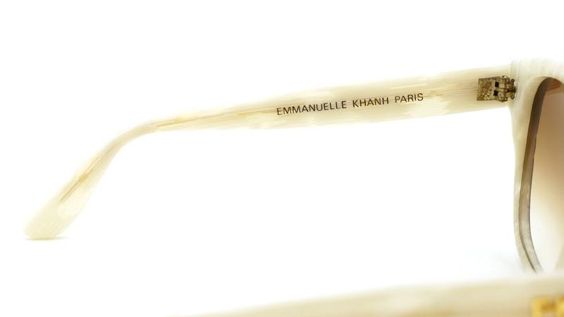 EMMANUELLE KHANH サングラス 8780 G 215 ホワイトササ/メタリックブルー 8