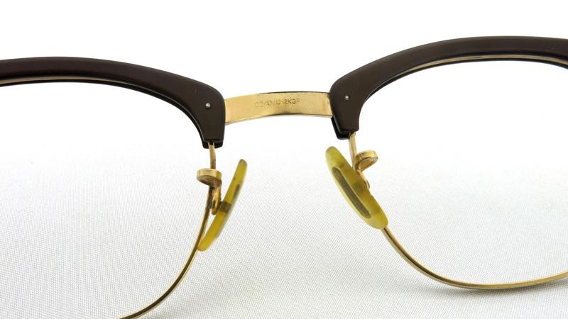 American Optical アメリカンオプチカル 1/10 12KGF ブラウン/ゴールド 6