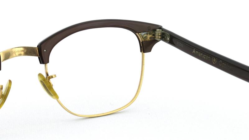 American Optical アメリカンオプチカル 1/10 12KGF ブラウン/ゴールド 8