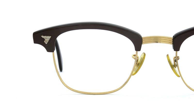 American Optical アメリカンオプチカル 1/10 12KGF ブラウン/ゴールド 12