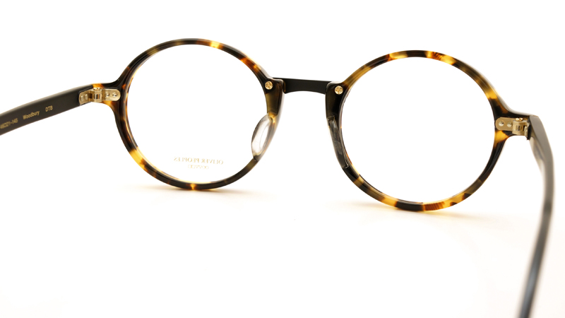OLIVER PEOPLES オリバーピープルズ 2013年新作 メガネ Woodbury DTB 6