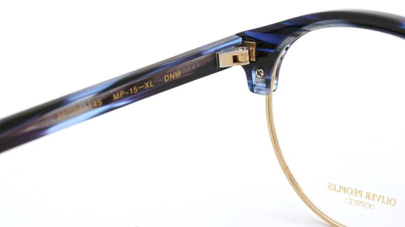 OLIVER PEOPLES オリバーピープルズ 2013年新作 メガネ MP-15-XL DNM ダークナイトマーブル 8