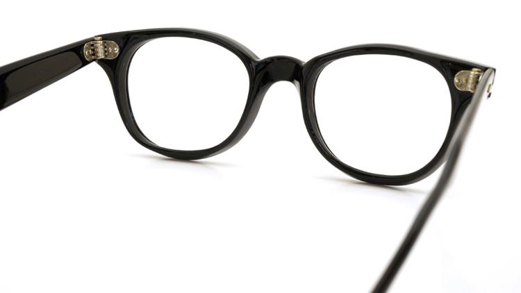AO ヴィンテージ 60s アロー鋲 ブラック-背面クリア 46サイズ レッドドット 7