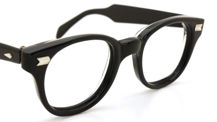 AO ヴィンテージ 60s アロー鋲 ブラック-背面クリア 46サイズ レッドドット 6