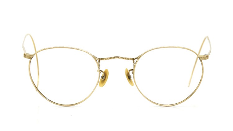 American-Optical 1940's HIBO GOLD WITH WHITE GOLD WWII ARMY CLIPON 15