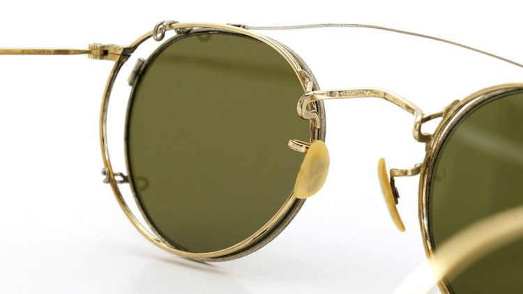 American-Optical 1940's HIBO GOLD WITH WHITE GOLD WWII ARMY CLIPON 7