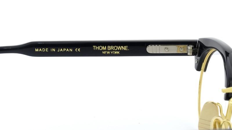 THOM BROWNE. (トムブラウン)メガネ TB-702 D-NVY-GLD-47 ポンメガネイメージ8