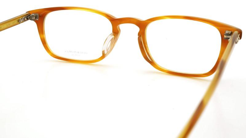 OLIVER PEOPLES (オリバーピープルズ)  × MILLER'S OATH (ミラーズ オース) 限定生産 カプセルコレクション [ SIR SERIES AT MILLER'S OATH ] Sir Kent Vintage Light Brown 7