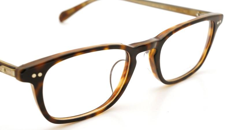 OLIVER PEOPLES (オリバーピープルズ)  × MILLER'S OATH (ミラーズ オース) 限定生産 カプセルコレクション [ SIR SERIES AT MILLER'S OATH ] Sir Kent Vintage Classic Tortoise 6