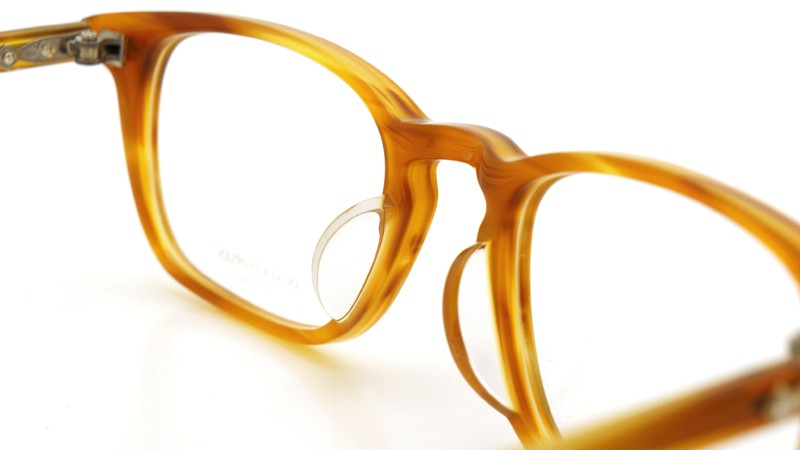 OLIVER PEOPLES (オリバーピープルズ)  × MILLER'S OATH (ミラーズ オース) 限定生産 カプセルコレクション [ SIR SERIES AT MILLER'S OATH ] Sir Kent Vintage Light Brown 8