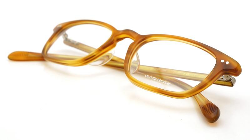 OLIVER PEOPLES (オリバーピープルズ)  × MILLER'S OATH (ミラーズ オース) 限定生産 カプセルコレクション [ SIR SERIES AT MILLER'S OATH ] Sir Kent Vintage Light Brown 11