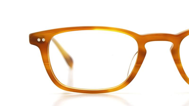 OLIVER PEOPLES (オリバーピープルズ)  × MILLER'S OATH (ミラーズ オース) 限定生産 カプセルコレクション [ SIR SERIES AT MILLER'S OATH ] Sir Kent Vintage Light Brown 15