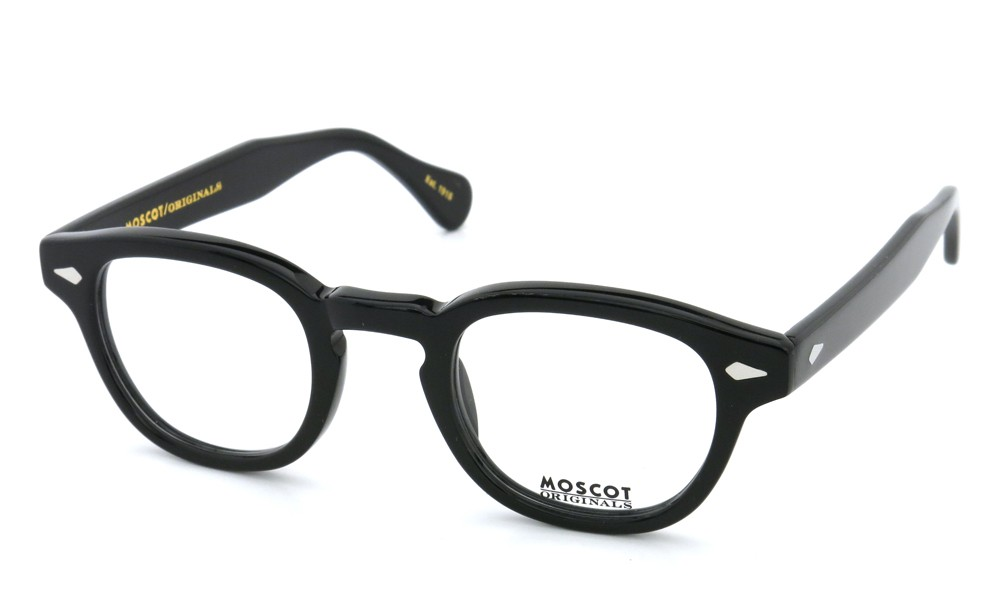 MOSCOT メガネ LEMTOSH 44size Black