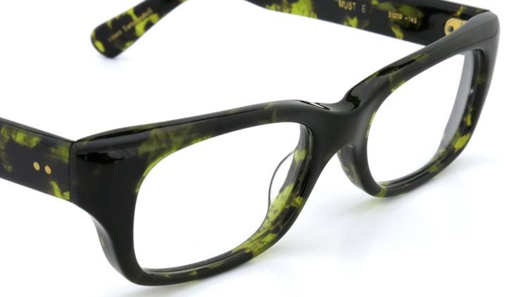 Oliver Goldsmith オリバーゴールドスミス MUST Green Tortoiseshell 6