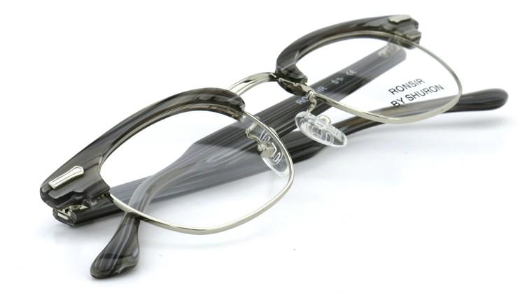 SHURON(シュロン) メガネフレーム RONSIR ZYL (Grey Briar/Silver) 46-22 10
