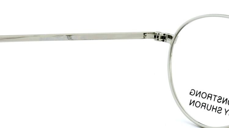 SHURON(シュロン) メガネフレーム RONSTRONG 44size Silver 9