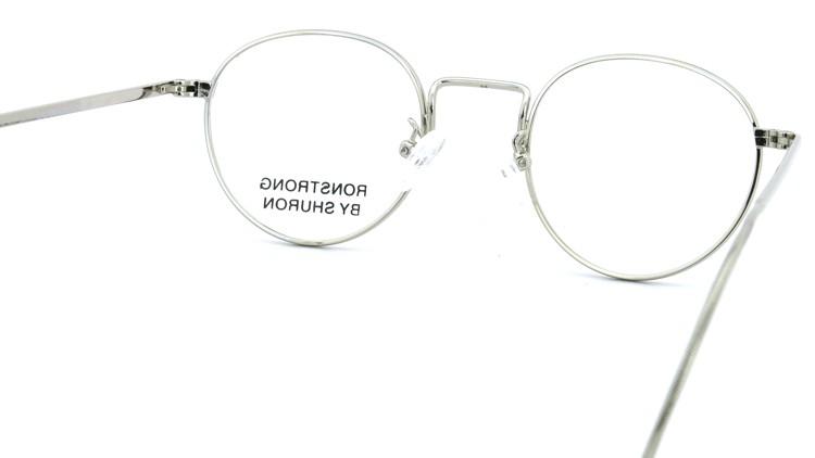 SHURON(シュロン) メガネフレーム RONSTRONG 44size Silver 7