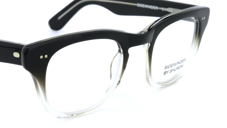 SHURON SIDEWINDER BLACK/CLEAR 50size 6