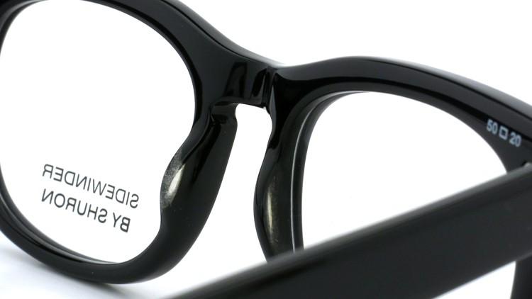SHURON SIDEWINDER BLACK 50size 8