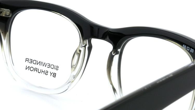SHURON SIDEWINDER BLACK/CLEAR 50size 8