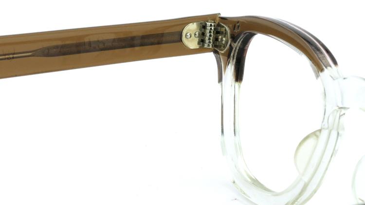 vintage TART OPTICAL メガネフレーム 50s ARNEL BROWN-CLEAR 42-24 (v1) 9