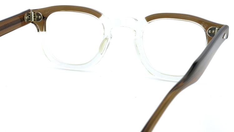 vintage TART OPTICAL メガネフレーム 50s ARNEL BROWN-CLEAR 42-24 (v1) 7