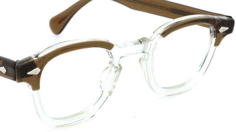 vintage TART OPTICAL メガネフレーム 50s ARNEL BROWN-CLEAR 42-24 (v1) 6