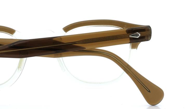 vintage TART OPTICAL メガネフレーム 50s ARNEL BROWN-CLEAR 42-24 (v1) 12
