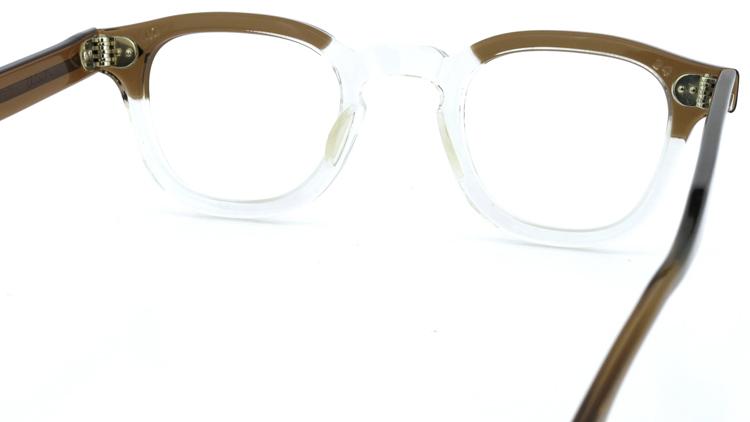 vintage TART OPTICAL メガネフレーム 50s ARNEL BROWN-CLEAR 46-22 (v1) 7