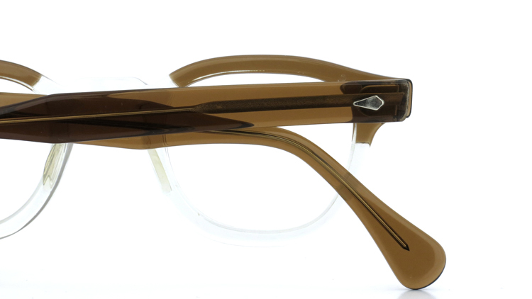 vintage TART OPTICAL メガネフレーム 50s ARNEL BROWN-CLEAR 46-22 (v1) 11