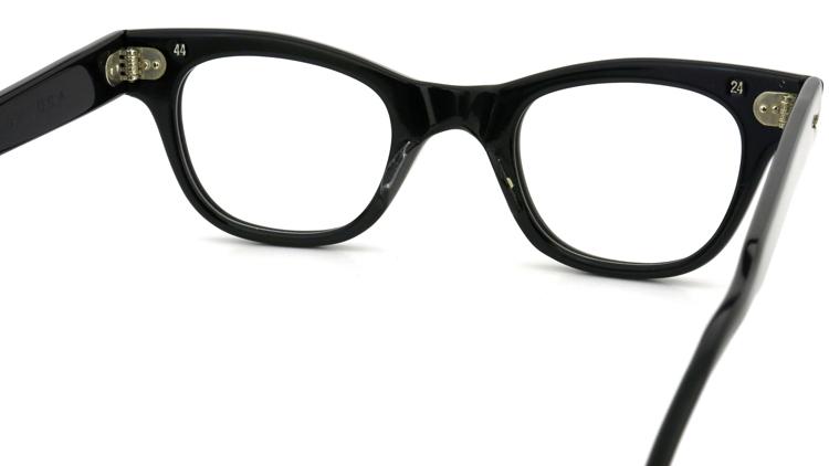 vintage TART OPTICAL メガネフレーム 50s COUNTDOWN BLACK 44-24 (n3) 7
